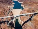 Hooverova přehrada letecky