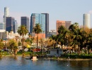 Panorama Los Angeles v Kalifornii