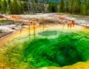 Jezírko Morning Glory Pool ve Wyomingu
