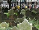 Hřbitov mezi mrakodrapy v New York City