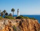 Kolos pod horkým kalifornským sluncem: Maják Point Vicente