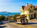 Viktoriánské domy na svazích San Francisca