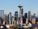 Seattle a Space Needle