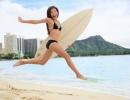 Honolulu - surfařka