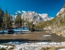 Zasněžená krása Skalnatých hor