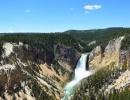 Horní část Yosemitských vodopádů