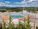 Velký duhový pramen v Yellowstone