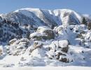 Mamutí hora pod sněhem