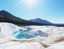 jezírko v NP Wrangell-St. Elias