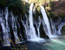 Burney Falls, stát Kalifornie