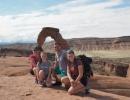 Studium v USA s návštěvou NP Arches