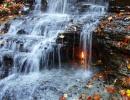 Eternal Flame Falls, Buffalo, New York - Amerika.cz