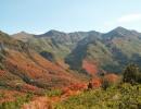 Wasatch mountains ve státě Utah