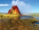 Fly gejzír v americké Nevadě
