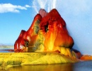 Nevadský Fly Geyser