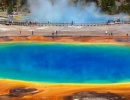 The Grand Prismatic Spring ve Wyomingu
