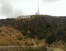 Slavný nápis Hollywood v Kalifornii