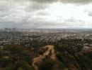 Pohled z Griffitovy observatoře v Los Angeles