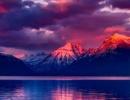 Lake McDonald v Montaně