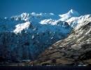 Aljaška - hory na ostrově Kodiak