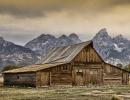 Dřevěná chata v NP Gran Teton, Wyoming - Amerika.cz